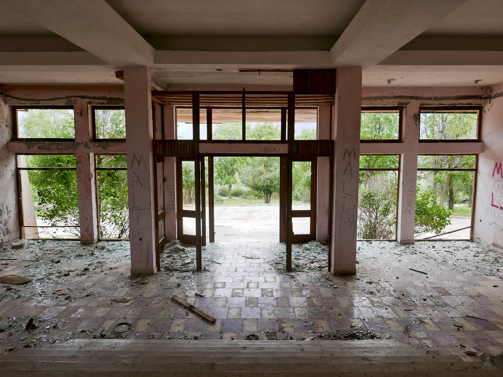 © alketamisja photography, Lobby Old Hotel,Kukës Albania 2015