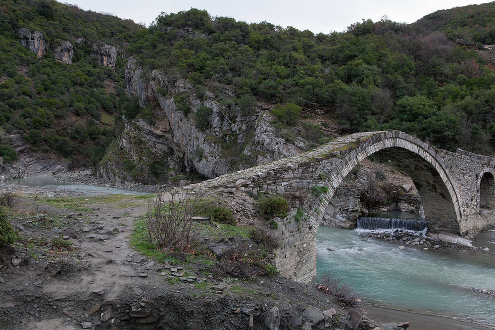 Katiu Bridge, Benje Permet, Albania, alketa misja photography, 14 march 2016