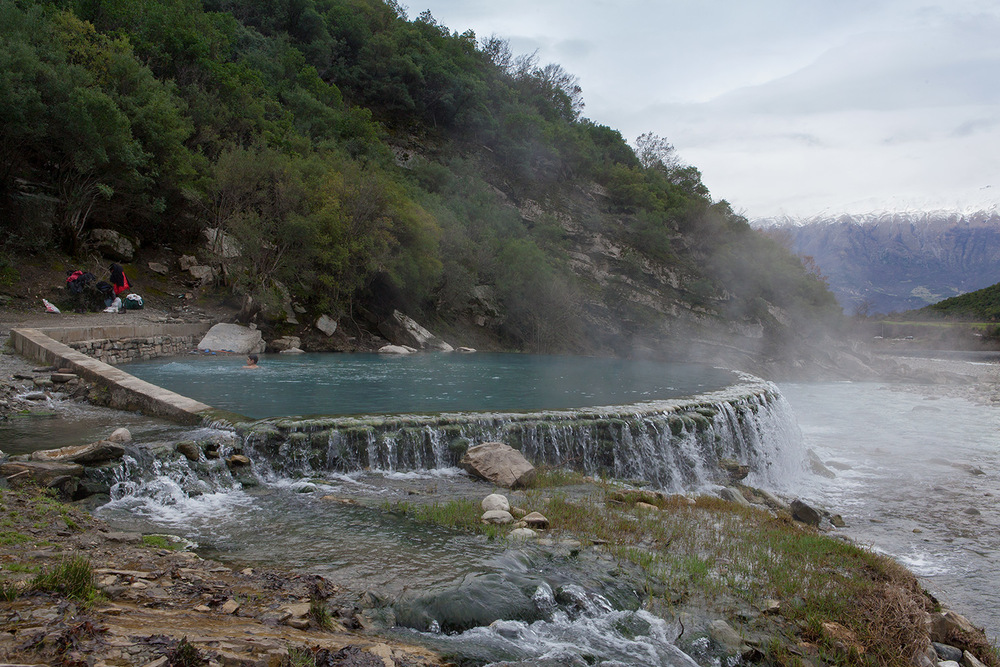 Thermal Waters of Benje Permet, Albania, alketamisja photography, 14 march 2016