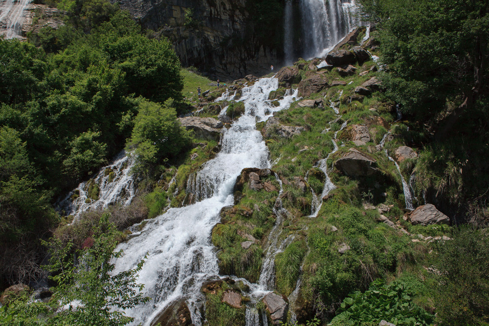 Sotira Waterfall, Gramsh Albania, 28 May 2017, copyright alketa misja photography