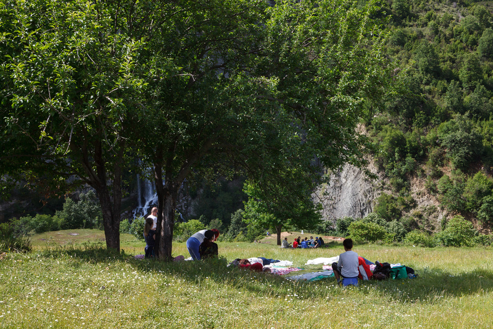 Sotira Waterfall, Gramsh Albania, 28 May 2017, copyright alketa misja photography