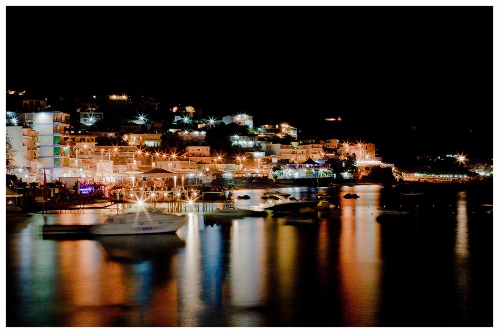 """""""Himara by Night"""", august 2013 Himara Albania"""
