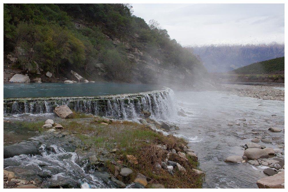 Thermal Waters of Benje Permet, march 2016