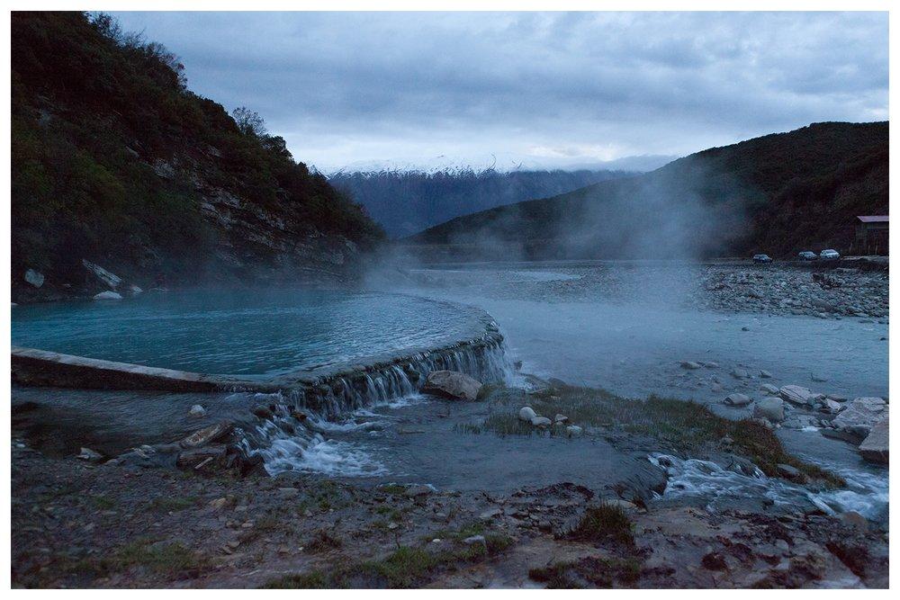 Termal Waters of Benje Permet, march 2016