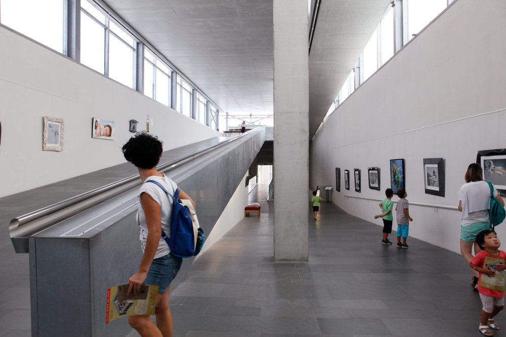 Inside Galata, Museo del Mare, the last floor dedicated to exhibitions, Genoa, alketamisja photography 2016