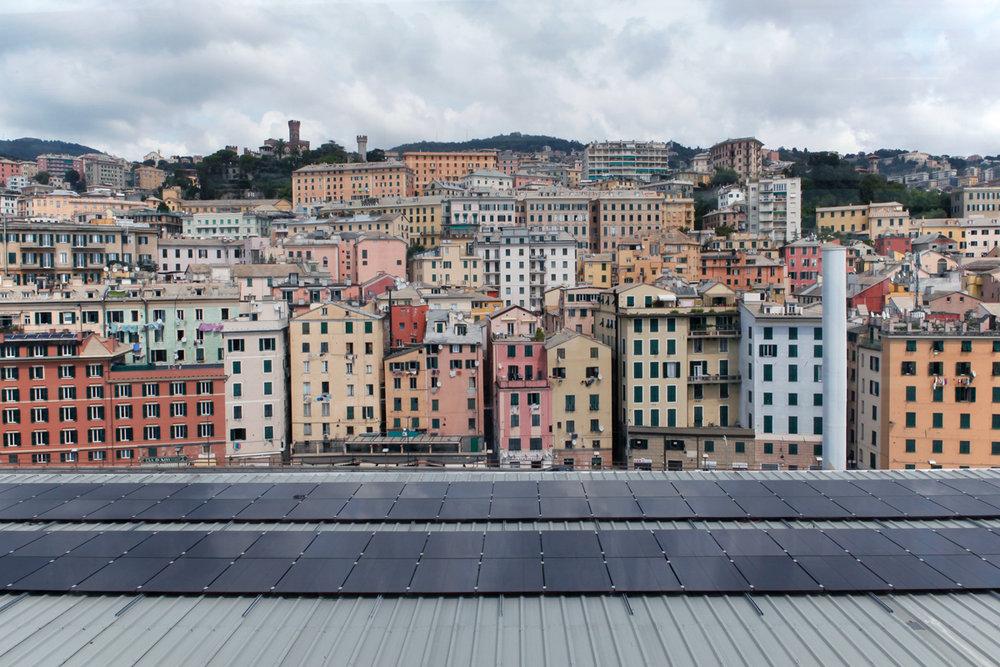 Genoa seen from Museo del Mare, alketamisja photography 2016