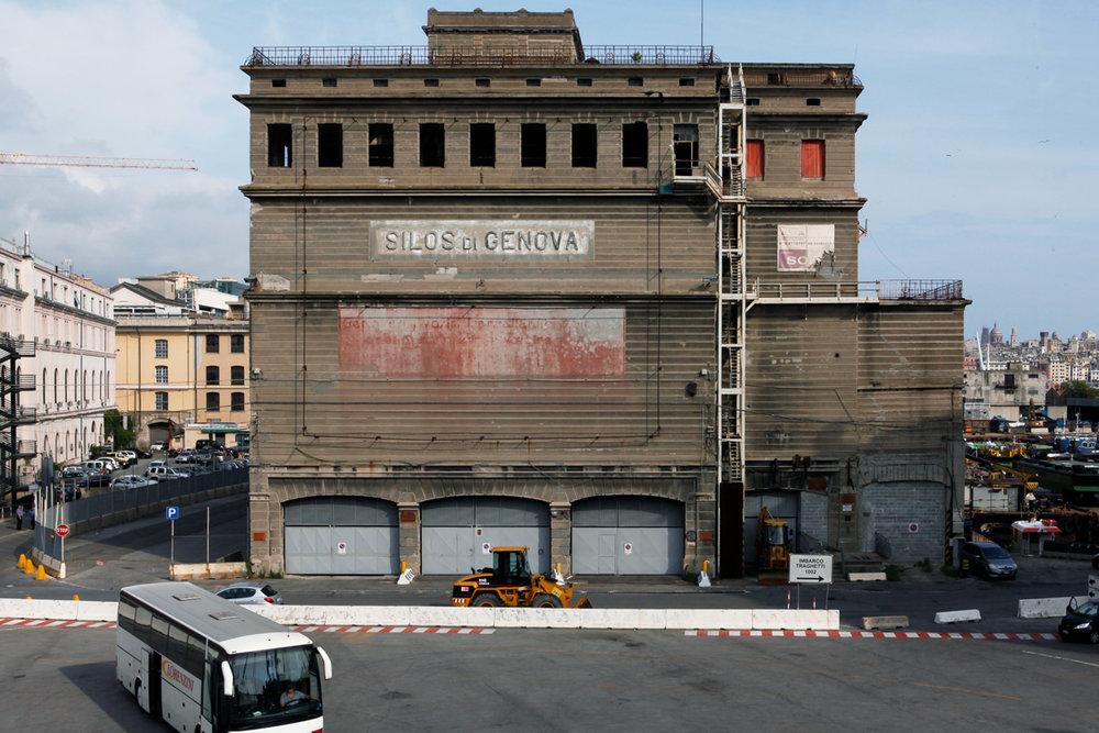 Silos di Genova, Porto Antico, alketamisja photography, 2016