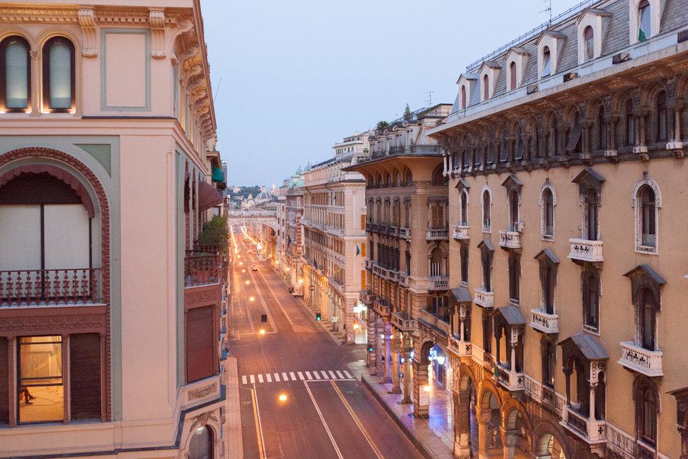 Via XX Settembre , Genoa, alketamisja photography 2016