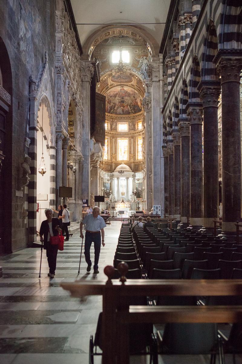 Cathedral San Lorenzo, Genoa Italy, alketamisja photography 2016