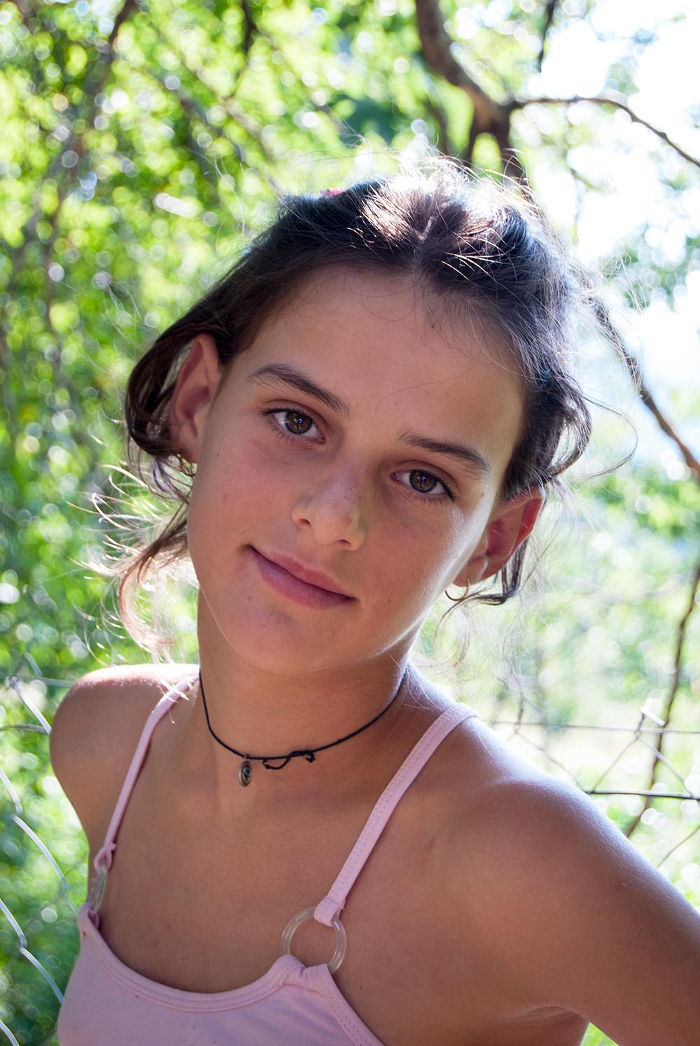 Portrait of a Girl, Orosh Mirditë, © alketa misja photography 2008