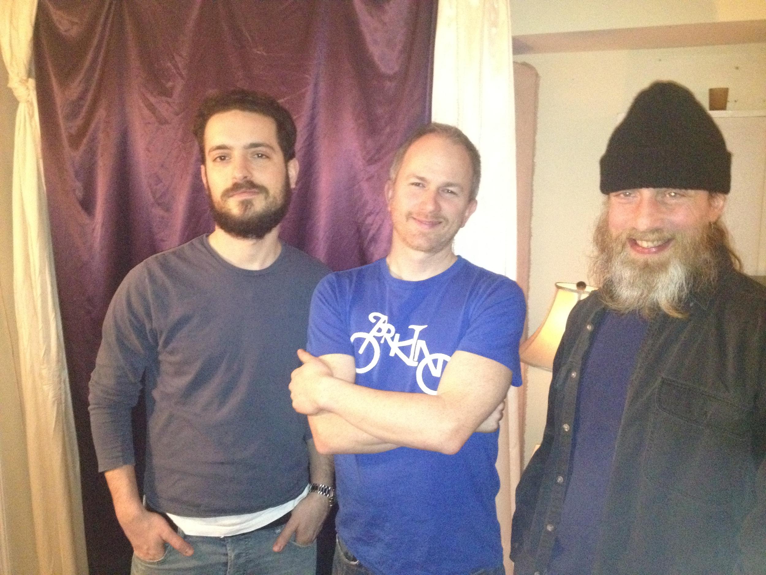 Ariel Wesissberger, Robin mitchell & kevin hummel