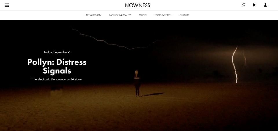 Distress Signals Nowness