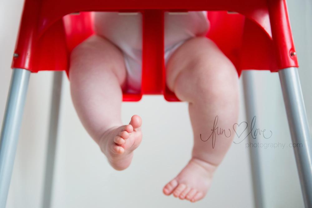 Chubby Legs Baby Photography
