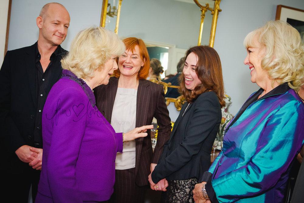 Camilla meets Søren Sveistrup, Piv Bernth and Sofie Gråbøl