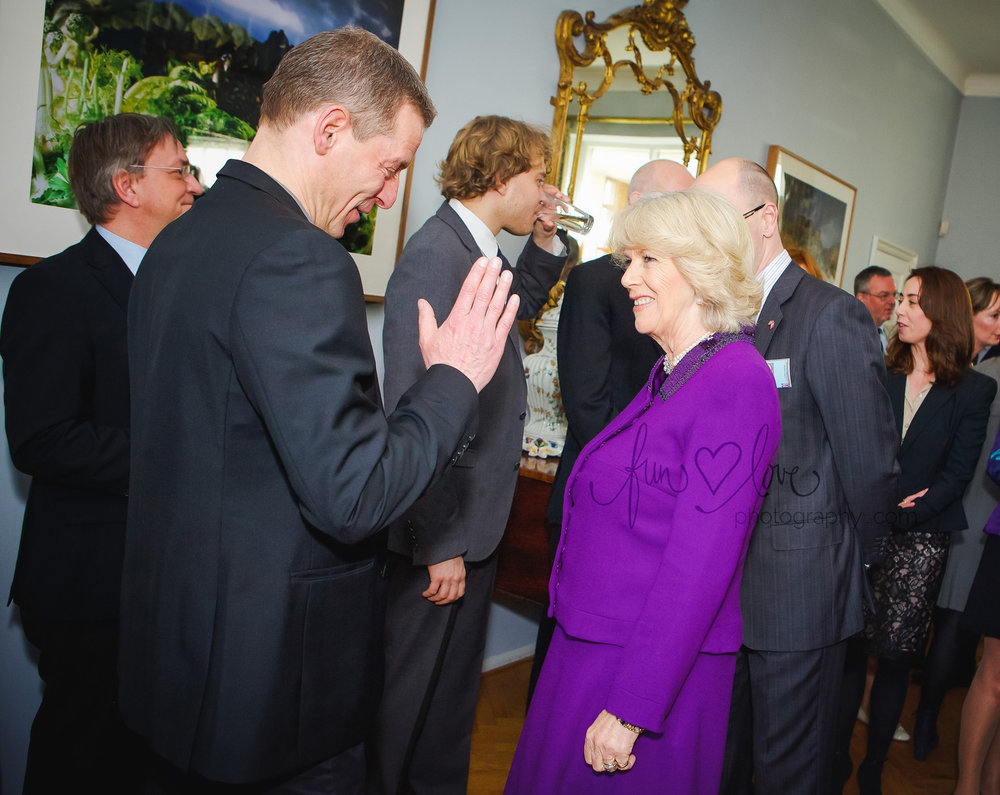 The Duchess meets Mikael Birkkjær...