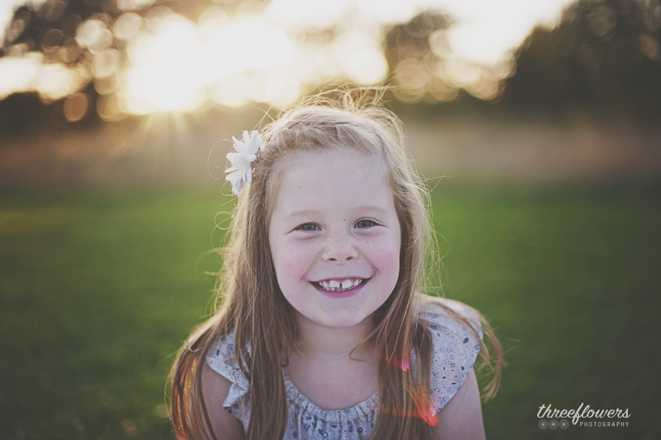 Three Flowers Photography Essex Lifestyle Photographer Golden Hour Portrait
