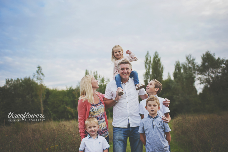 Three Flowers Photography Essex Lifestyle Photographer Summer Family Portrait
