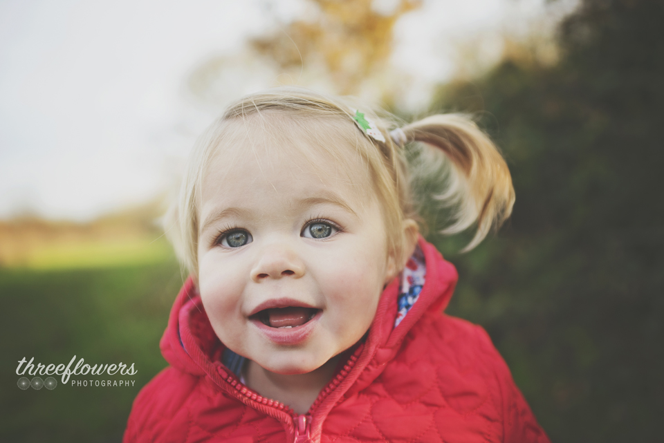 Three Flowers Photography Essex Lifestyle Photographer Autumn Light Pre School Portrait