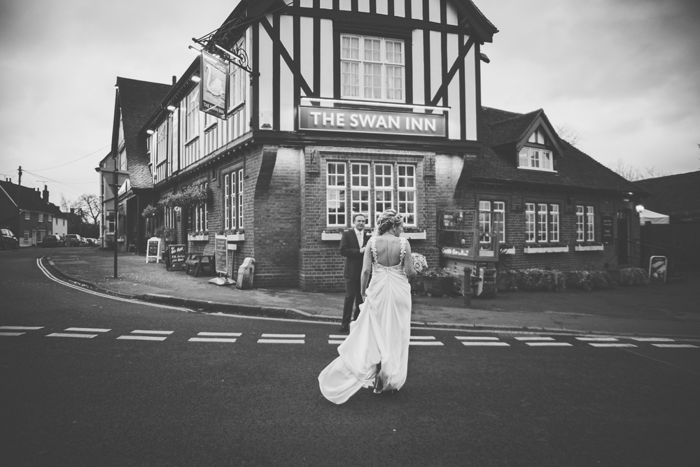 Three Flowers Photography Essex Pub Wedding
