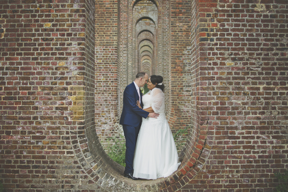 Three Flowers Photography Essex Wedding Viaduct