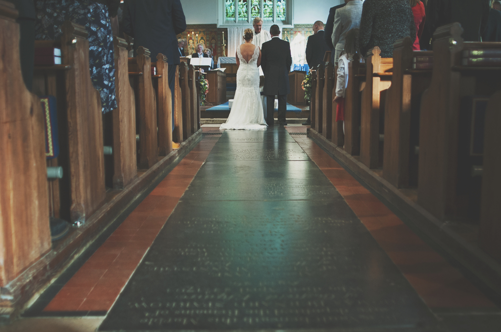 Three Flowers Photography Essex Wedding Photography Bride and Groom Church