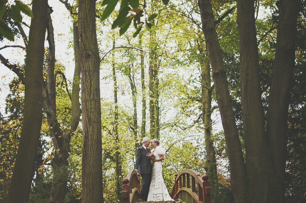 Three Flowers Photography Mulberry House Essex Wedding Bride Groom Bridge