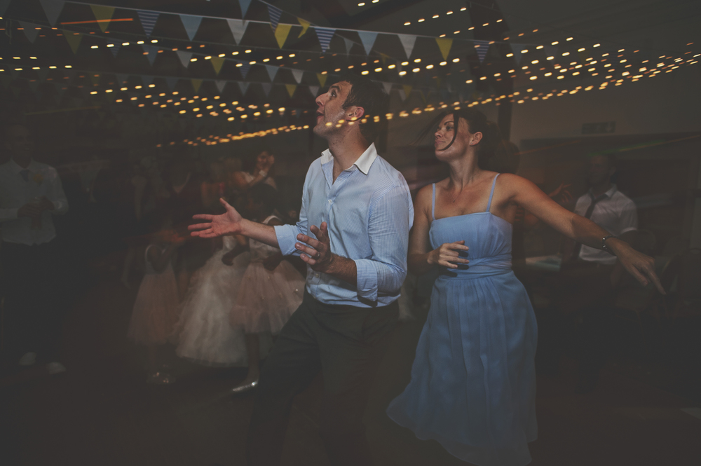 Three Flowers Photography Essex Weddings Bunting Dancing Long Exposure