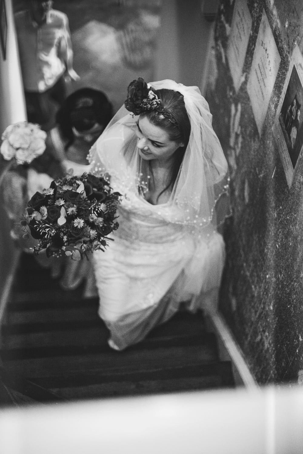 Vintage Christmas London Pub Wedding Essex UK Documentary Wedding Photographer