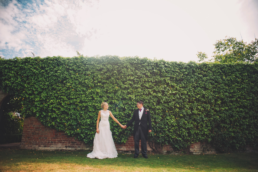Bride Groom Wood Hall Suffolk Essex UK Documentary Wedding Photographer