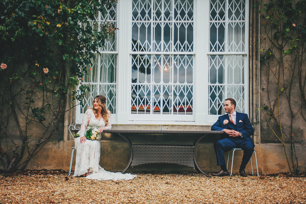 Bride Groom Rustic Essex Documentary Wedding Photographer