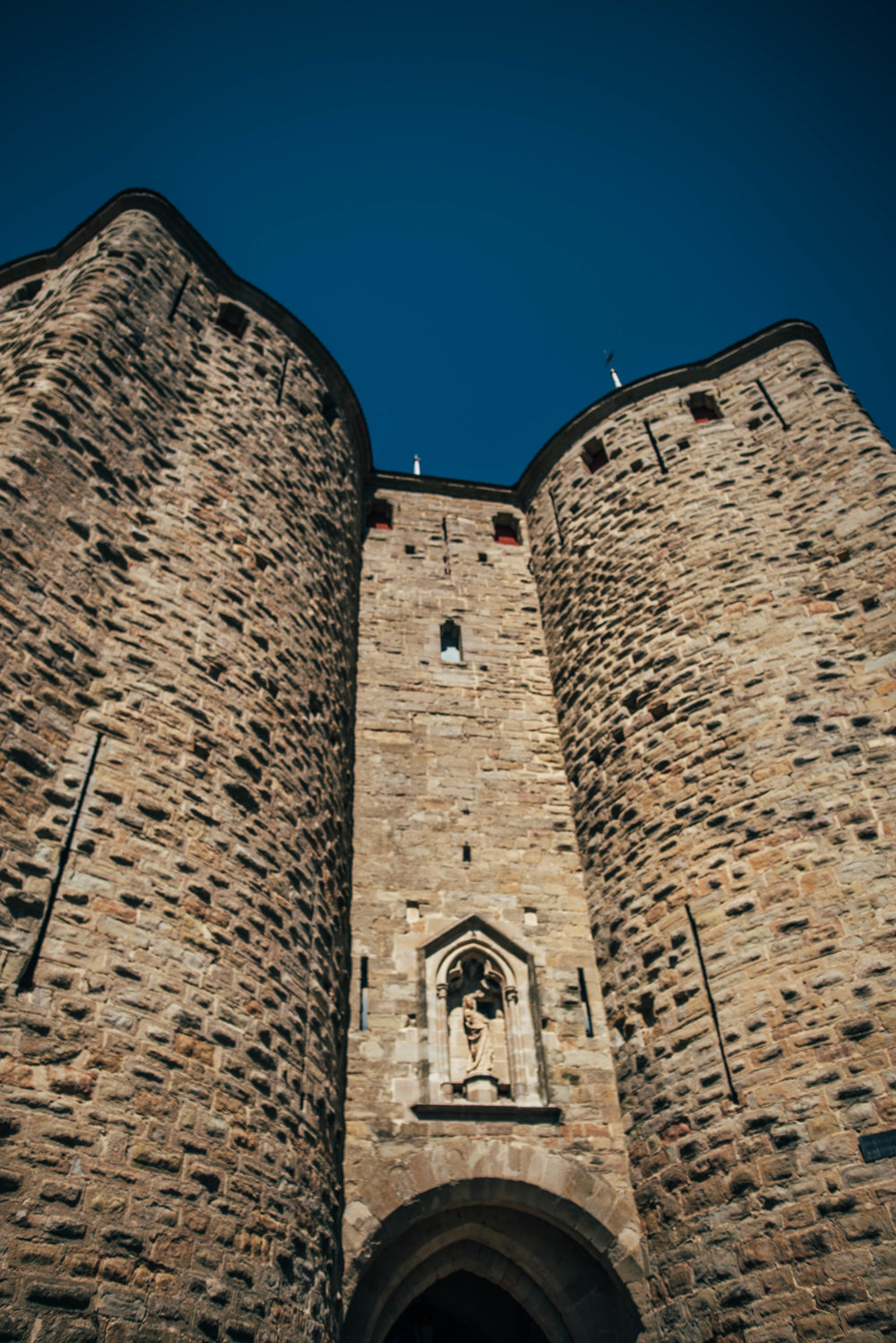 Carcassonne Citadel France Essex UK Documentary Photographer