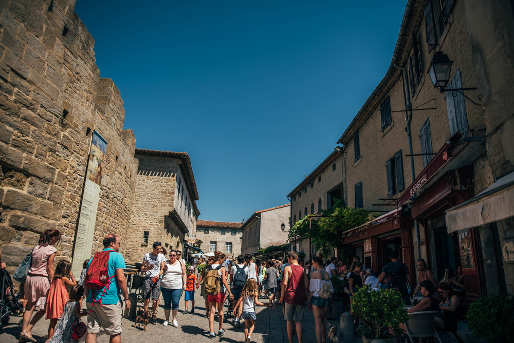 Carcassonne Citadel France UK Documentary Photographer