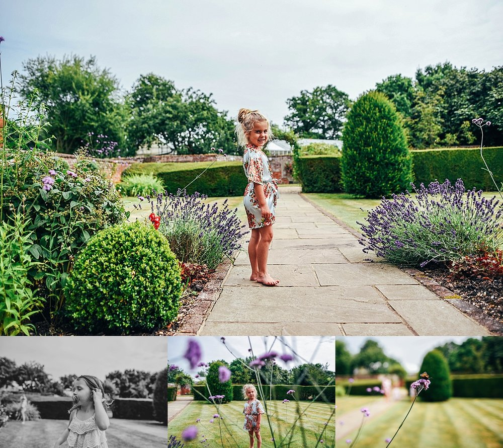 Bride Groom Essex Wedding Photographer Documentary Blake Hall Flower Girl Garden
