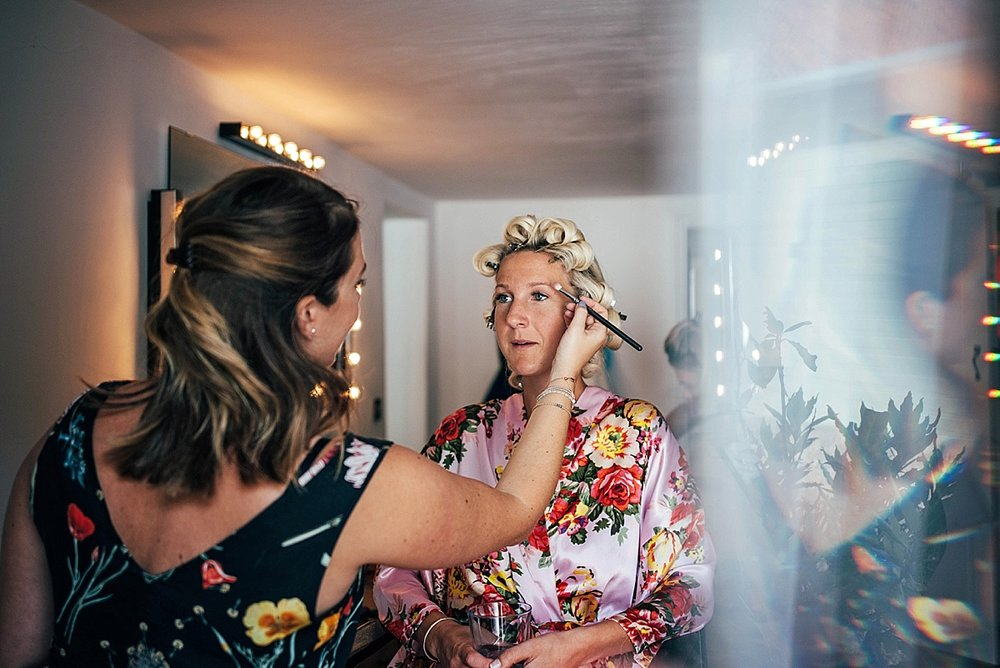 Bride Groom Essex Wedding Photographer Documentary Blake Hall Bridal Prep