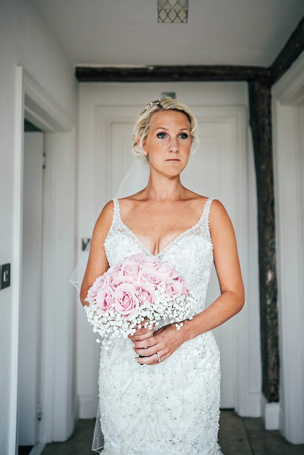 Bride Groom Essex Wedding Photographer Documentary Blake Hall Bride