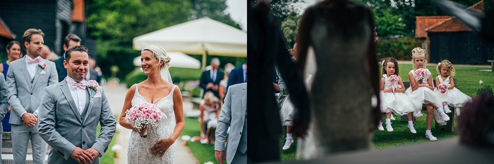 Bride Groom Essex Wedding Photographer Documentary Blake Hall Ceremony