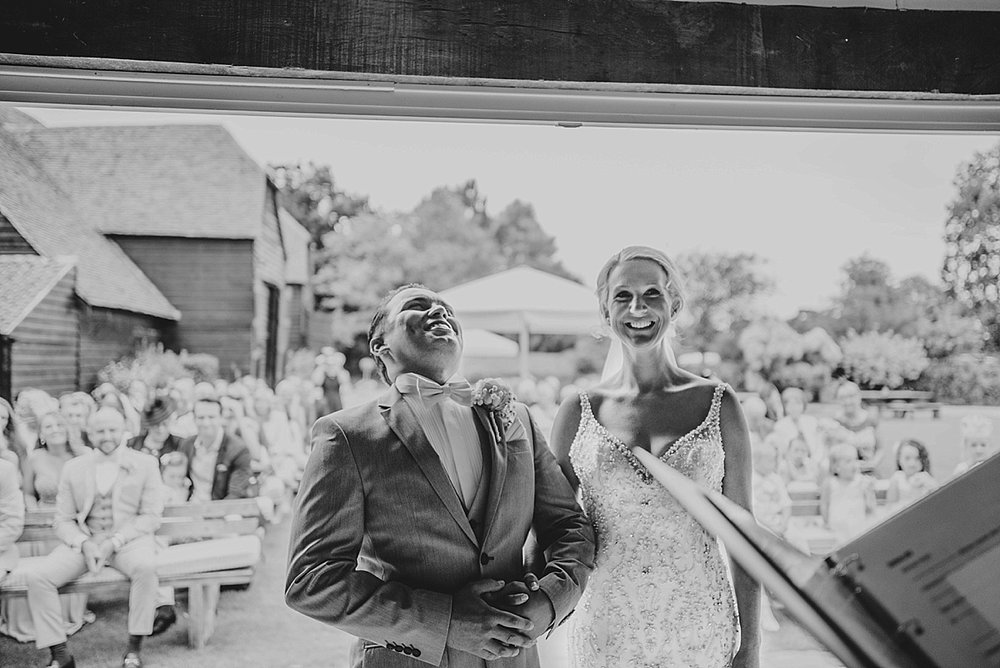 Bride Groom Essex Wedding Photographer Documentary Blake Hall Laughing Bride Groom