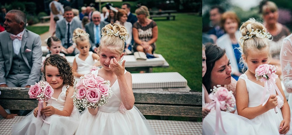 Bride Groom Essex Wedding Photographer Documentary Blake Hall Crying Bridesmaids
