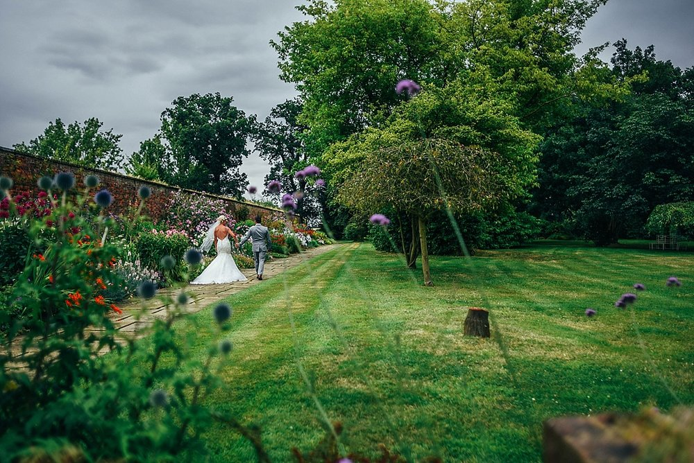 Bride Groom Essex Wedding Photographer Documentary Blake Hall Bride Groom Walled Garden