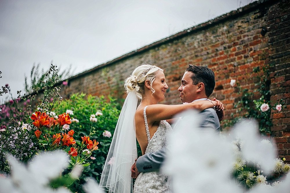 Bride Groom Essex Wedding Photographer Documentary Blake Hall Bride Groom Walled Gardenw