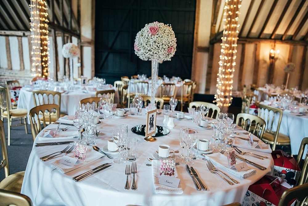 Bride Groom Essex Wedding Photographer Documentary Blake Hall table