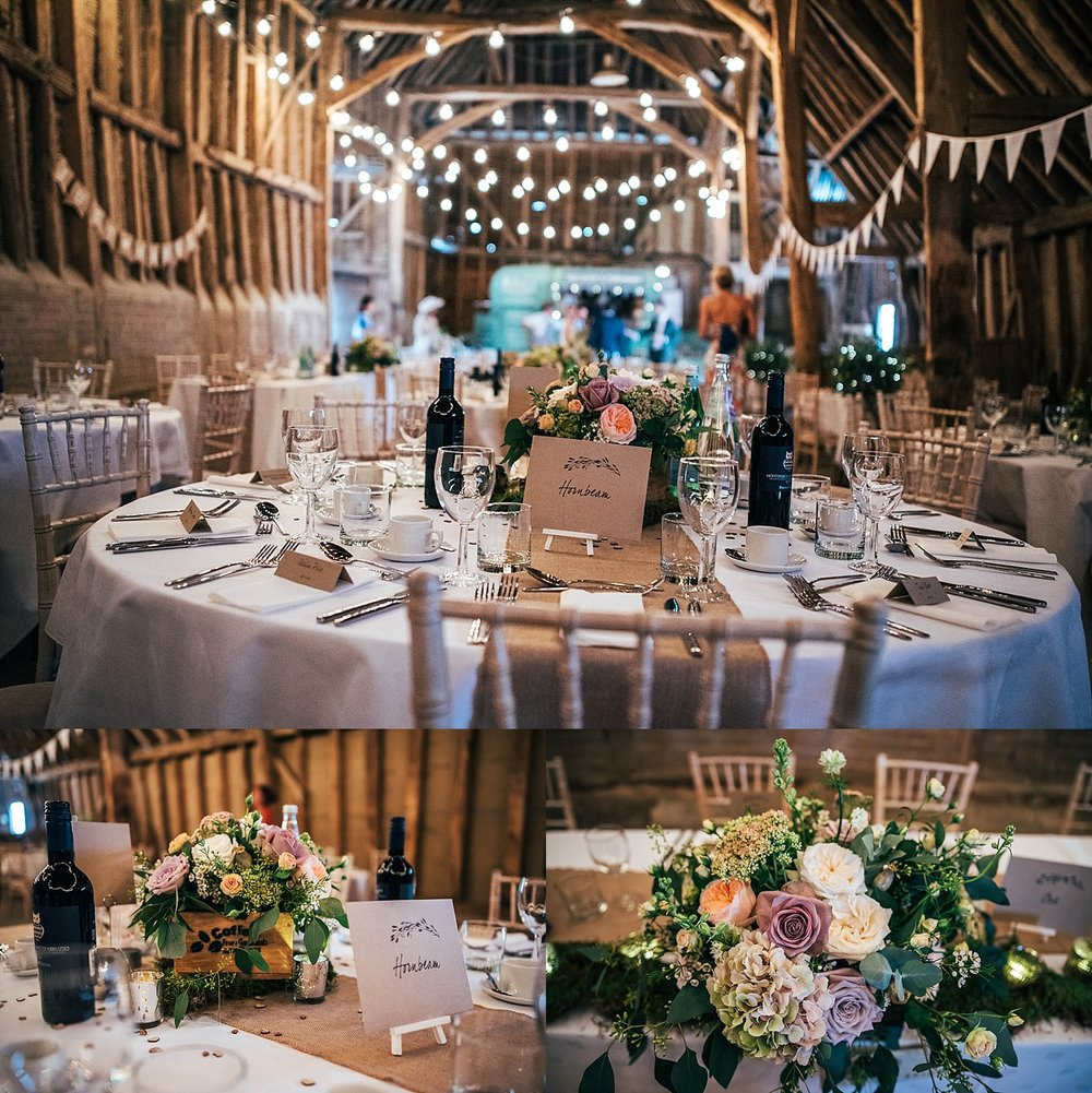 Rustic Elegance for Farm Wedding with Festoon Lights & Naked Cake Bride wears Pronovias Essex UK Documentary Wedding Photographer