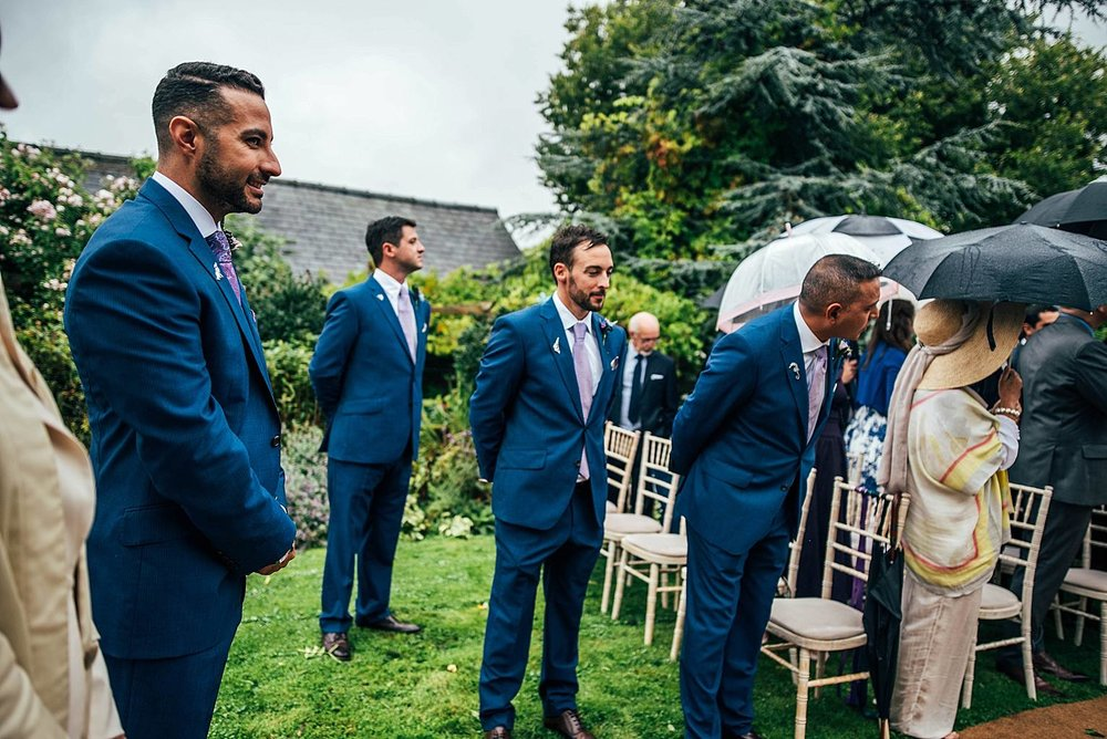 Travel Inspired Rainy Day Dewsall Court Essex UK Documentary Wedding Photographer