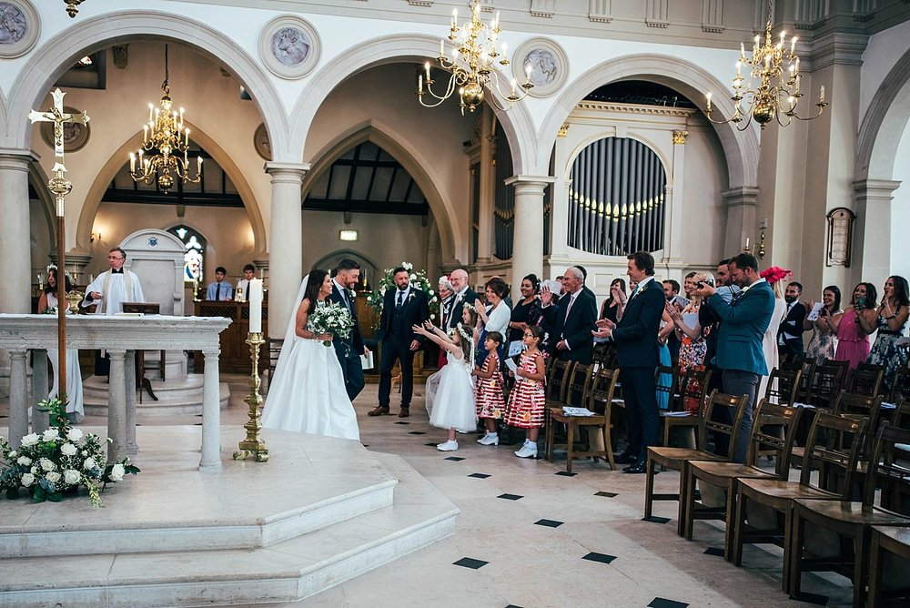 Elegant Brentwood Cathedral and Blake Hall Wedding Bride Wears Jesus Piero Essex UK Documentary Wedding Photographer