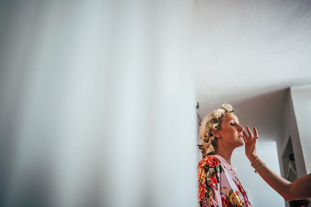 Bridal Prep at Blake Hall Ongar Wedding Essex UK Documentary Photographer