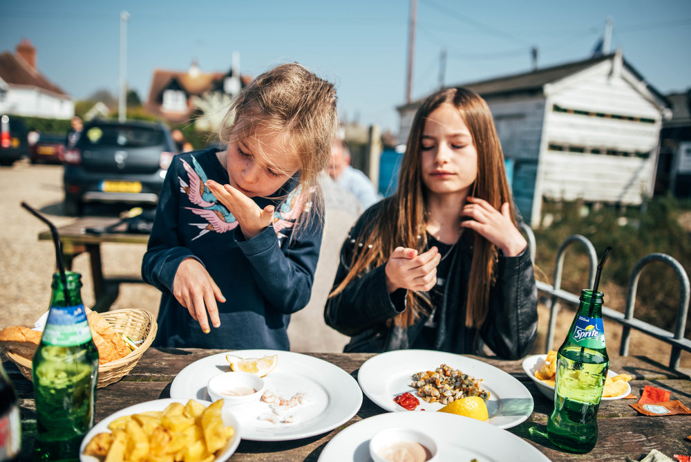 Essex Family Lifestyle and Portrait Photographer Mersea Seafood Shed