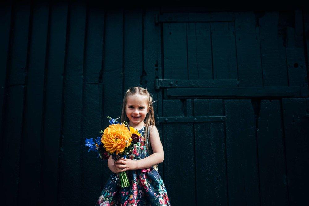 Colourful Rustic Spring Blake Hall Ongar Barn Wedding Essex UK Documentary Wedding Photographer
