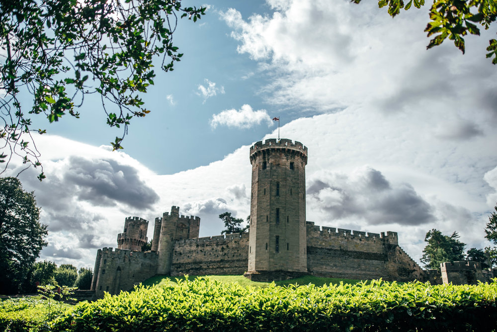 Warwick Castle Essex UK Documentary Wedding Photographer