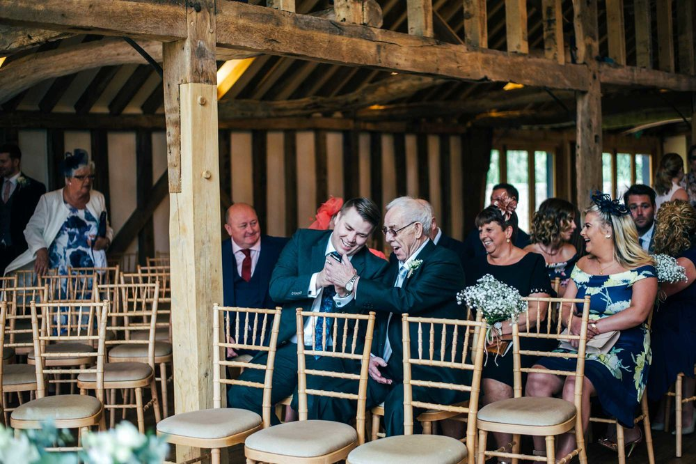 Rustic Barn Wedding with Contemporary twist at Blake Hall. Bride wears Pronovias. Essex Documentary Wedding Photographer.