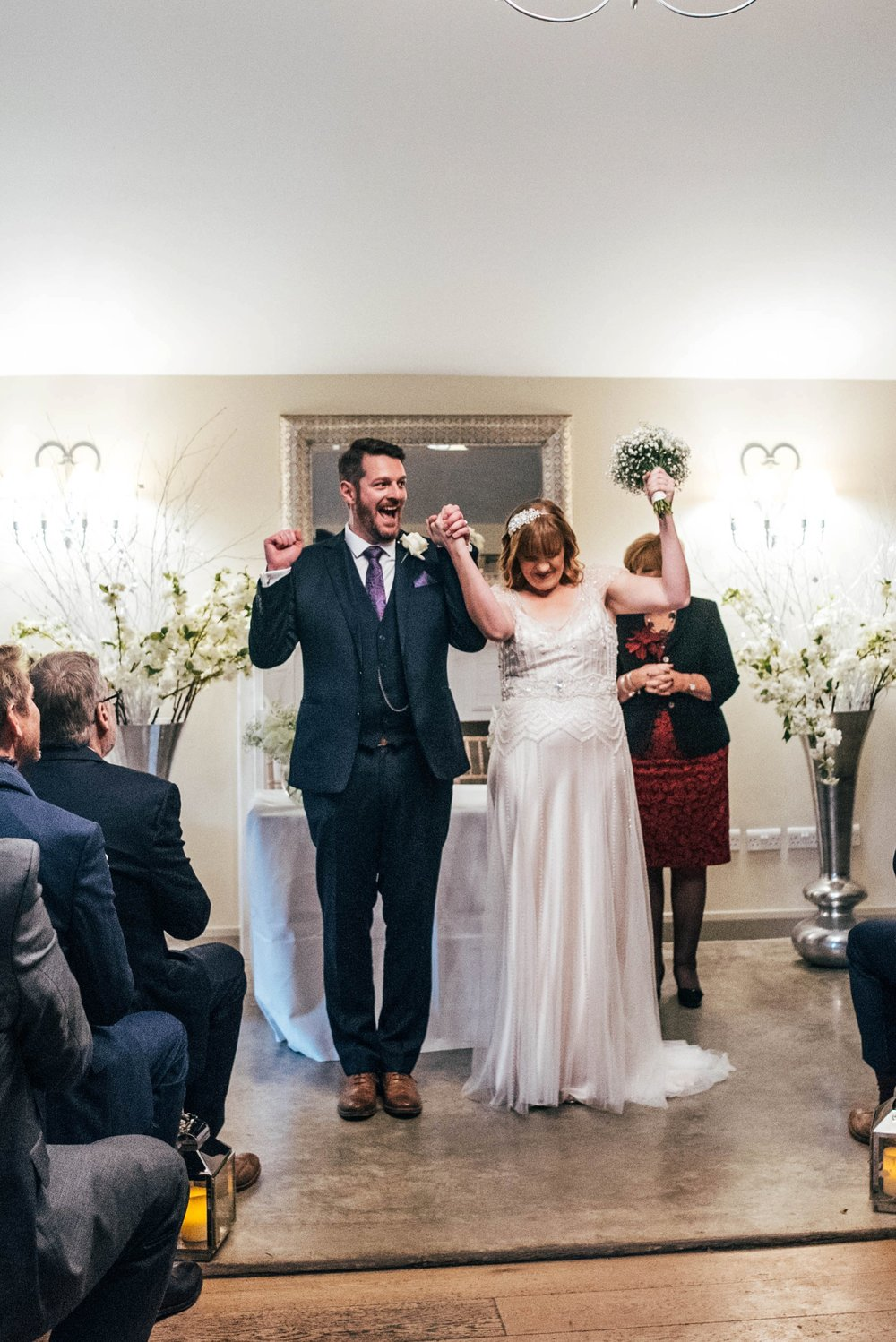 Fun Filled Gin Inspired Christmas Wedding at Houchins Essex, Bride Wears Maggie Sottero Essex Documentary Wedding Photographer